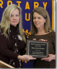 Teachers Association of Paradise Recognizes Paradise Rotary Club's Commitment to Education